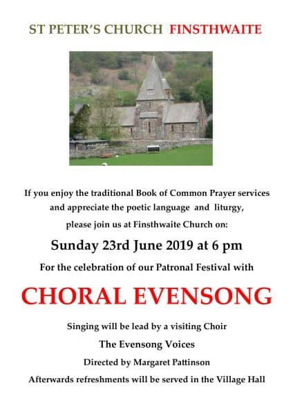 Invitation to Choral Evensong