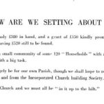 1954 Appeal to raise £1000