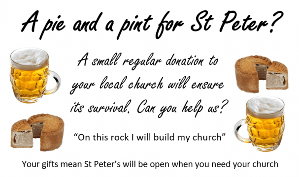 Stewardship - A Pie and a Pint for St Peter